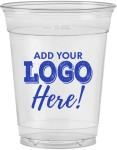 16oz Soft Sided Clear Cups